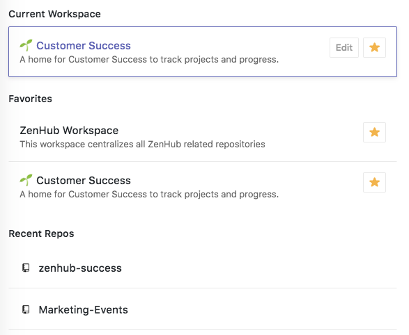 Organized Workspaces in ZenHub